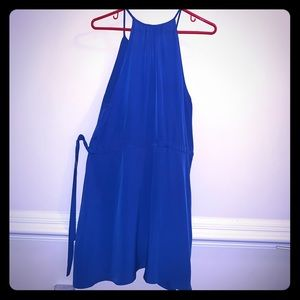 Keyhole, Duke Blue Dress...